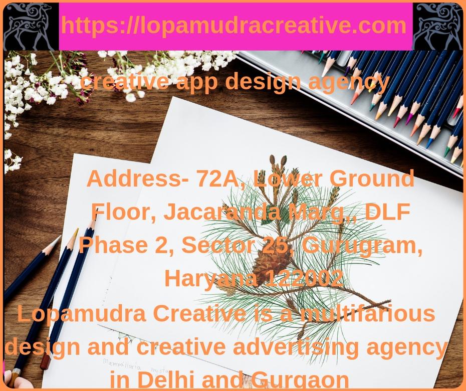 Creative app design agency