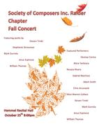 Society of Composers Inc. Raider Chapter Fall Concert