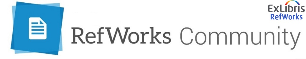 RefWorks Community