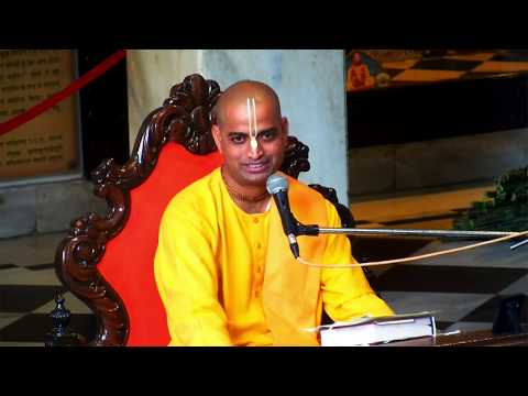 Srimad Bahagavatam Class 9.10 .51 by Krishna Bhajan Prabhu on 9th Feb 2019 at ISKCON Juhu