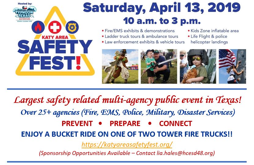 4th Annual Katy Area Safety Fest