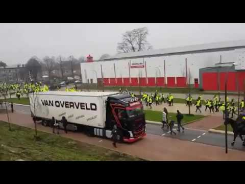 Yellow Vests movement is sweeping through Europe - Maastricht, Netherlands