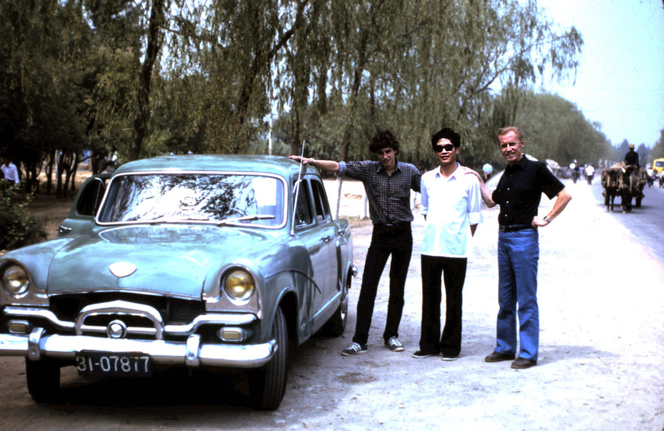 Richard Ozanne (Left) Car Driver (Center) Ozan Marsh (Right) May 22 1982