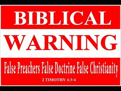 BEWARE of False Christianity...Charles Lawson speaks the Truth!