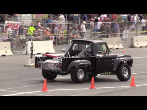 Joe Bosman 1965 Black Ford F100 Baja Truck autocross
