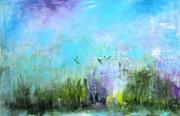 9. POLDER IMPRESSION 4, 75 x 115 cm. Acryl auf Canvas