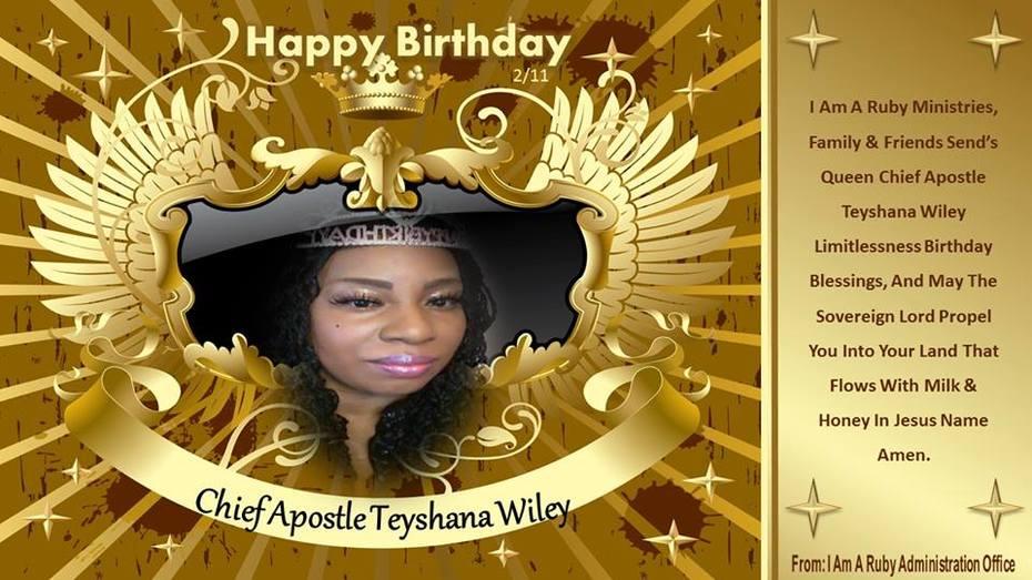 Apostle T 41'st Birthday Celebration