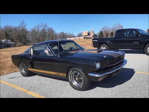 A Walk About A 1966 Shelby Mustang GT350H