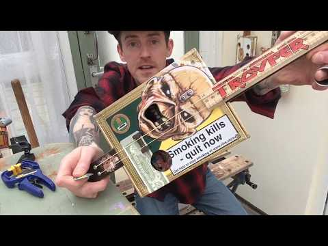How to put graphics on a cigar box guitar