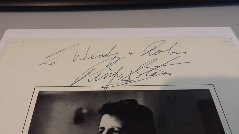Ringo Starr Full Name Autograph