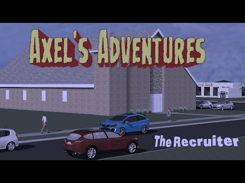 The Recruiter  (Christian Comic) Axel's Adventures