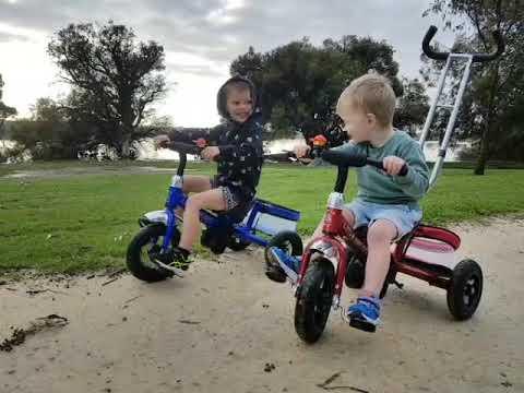 Little Nation Toddler Trike Offroad Spin