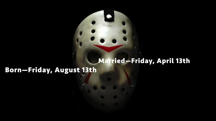 Curse of Friday the 13th?