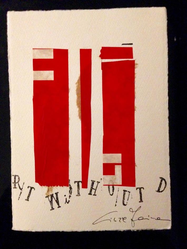 "Cinzia Farina - ""Art without Death Without Art"", per Edition Janus, Berlino"
