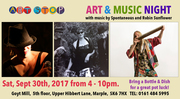 Art Stop CIC Music and Art party