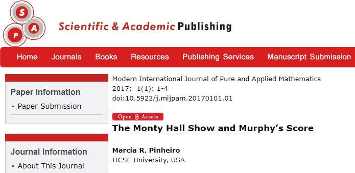 Monty Hall Problem - Data Science Central