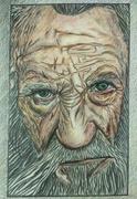 Colour pencil sketch