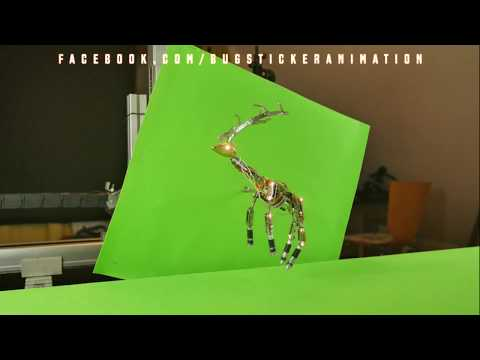 StopMotion - How its made FounDeer - Bugstickeranimation