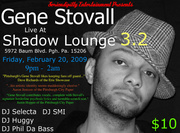 Gene Stovall Live at Shadow Lounge 3.2