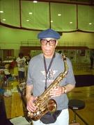 Hosea Taylor with the Penn Hills Jazz AllStars