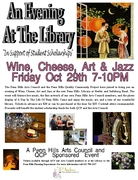 JAZZ, Art, Wine and Cheese -- Penn Hills Library