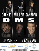 Jazz Cruises Present The DMS Tour featuring George Duke, Marcus Miller & David Sanborn