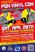 Pgh Vinyl Con (PVC) #2 @ Pittsburgh Filmmakers