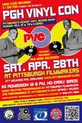 Pgh Vinyl Con (PVC) #2 @ Pittsburgh Filmmakers