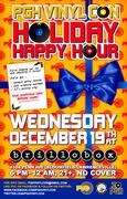 Pgh Vinyl Con Holiday Happy Hour at brillobox