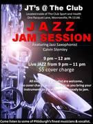 JAZZ JAM SESSION - JT'S @ THE CLUB