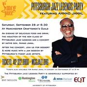 AHMAD JAMAL CONCERT & Celebration of Pittsburgh Living Legends of Jazz with 5 new inductees
