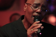 Charlie G. singing with Tony Campbell at Wallace's Whiskey Room (9-1-18)