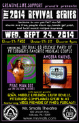 Phat Man Dee & Amoeba Knievel CD Release! Presented by Creative.Life.Support at Mr Smalls Theatre!