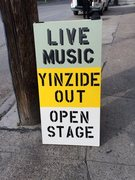 Yinzide Out open stage Wednesdays @ Young Brothers Bar