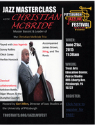 JAZZ MASTERCLASS with Christian McBride