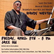 RANDY WESTON 90th BIRTHDAY MUSIC TRIBUTE