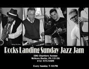 Rocks Landing Bar and Grille Sunday Jam Session with Tony Campbell