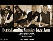 Rocks Landing Sunday Smooth Jazzsurgery Jam with Tony Campbell