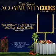 Fifth Annual A Community Cooks Celebration at Paul Quinn College