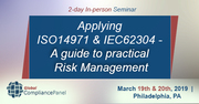 Seminar on ISO 14971 Risk Management Training-IEC 62304 Risk Management
