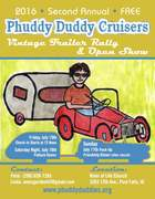 2nd Annual Vintage Trailer Rally & Open Show / Phuddy Duddy Cruisers