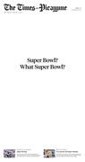 What Super Bowl?