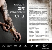 Articles of Hope, Adornments For Justice Launch