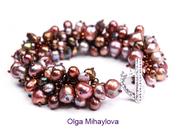 Pearl Fringe Bracelets with Artist Olga Mihaylova