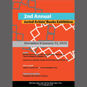 2nd Annual Juried Artists' Books Exhibition