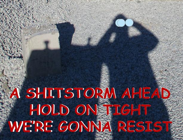 Shit Storm Ahead