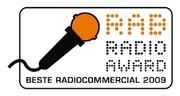 RAB RADIO AWARD: Beste Radiocommercial 2009