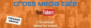 Grote interesse voor het Cross Media Café YouTubers!
