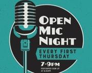First Thursday Open Mic Night