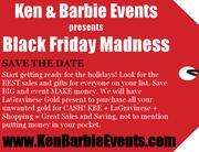 Ken & Barbie Black Friday Madness